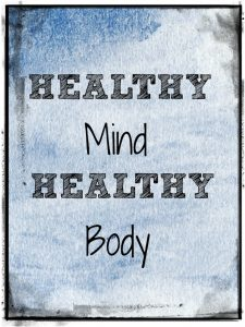healthy mind healthy body