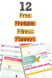 Free Printable Fitness Planners