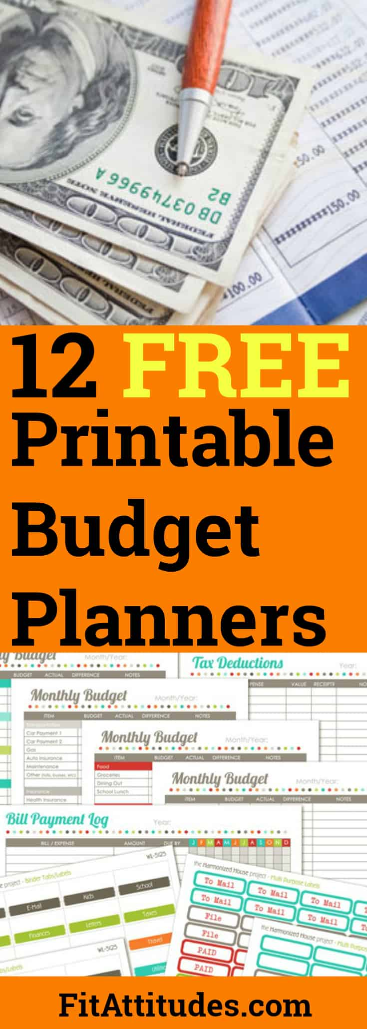 Downloadable Budget Planners