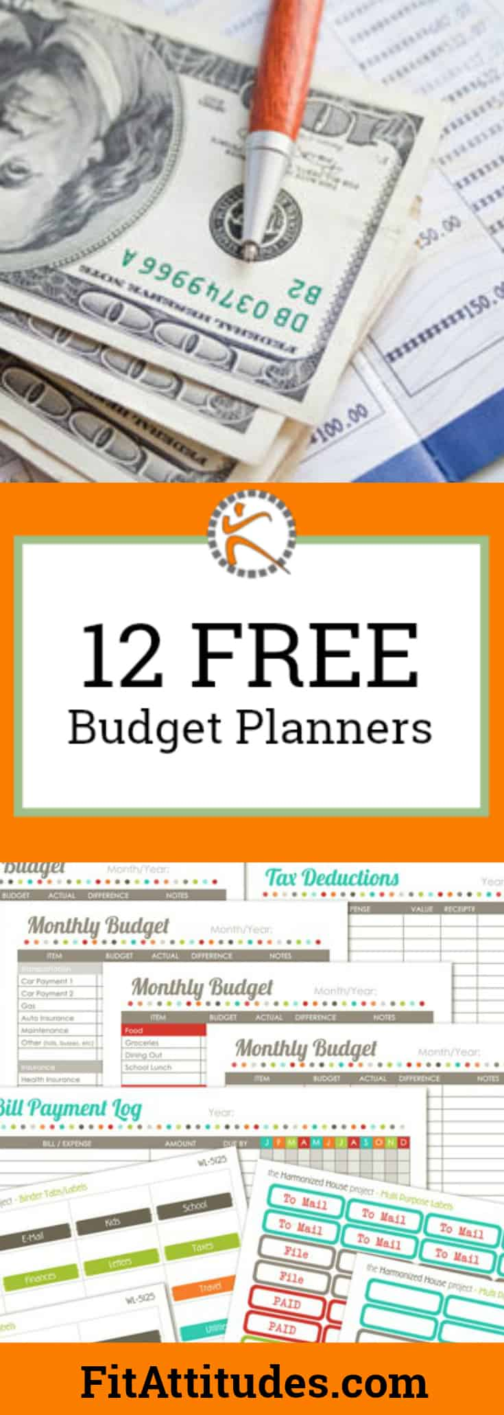 Budget Printable Binder