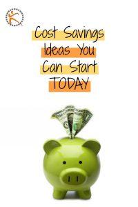 Cost Savings Ideas