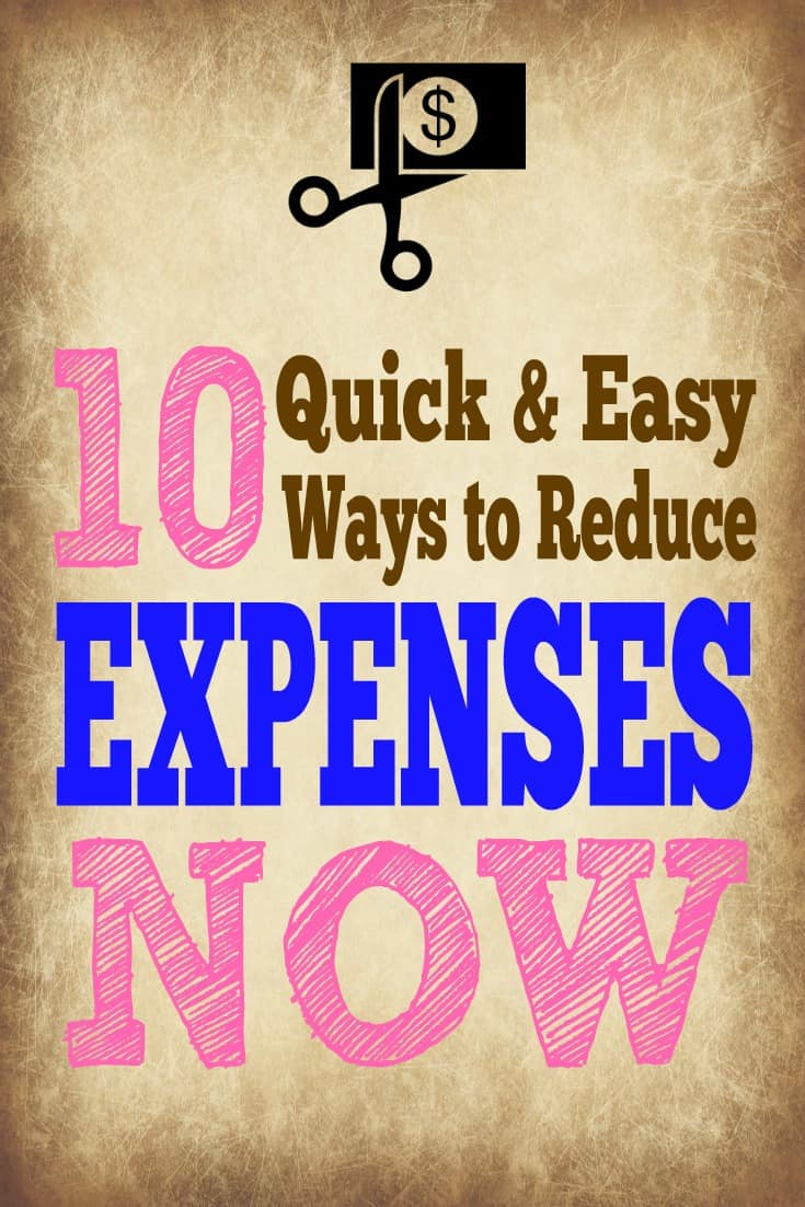 Follow these simple expense reduction ideas to save big #howtosavemoney
