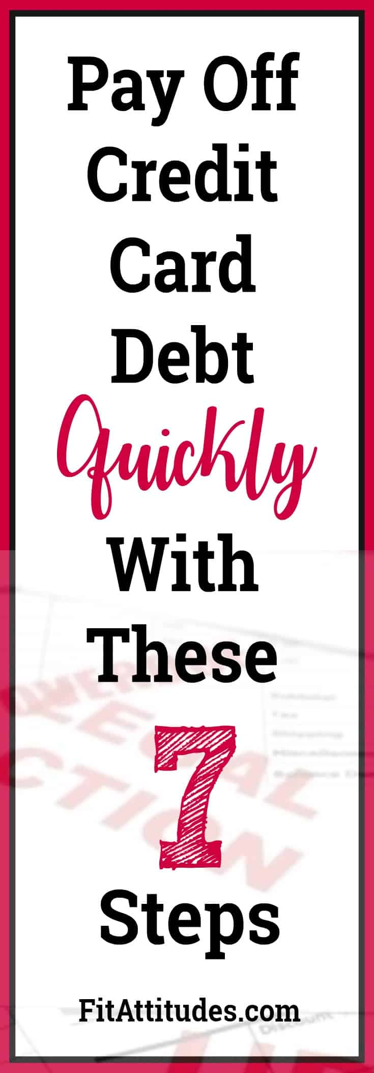 Pay Down Debt Fast