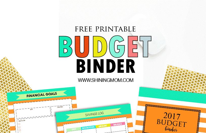 Budget Binder Forms