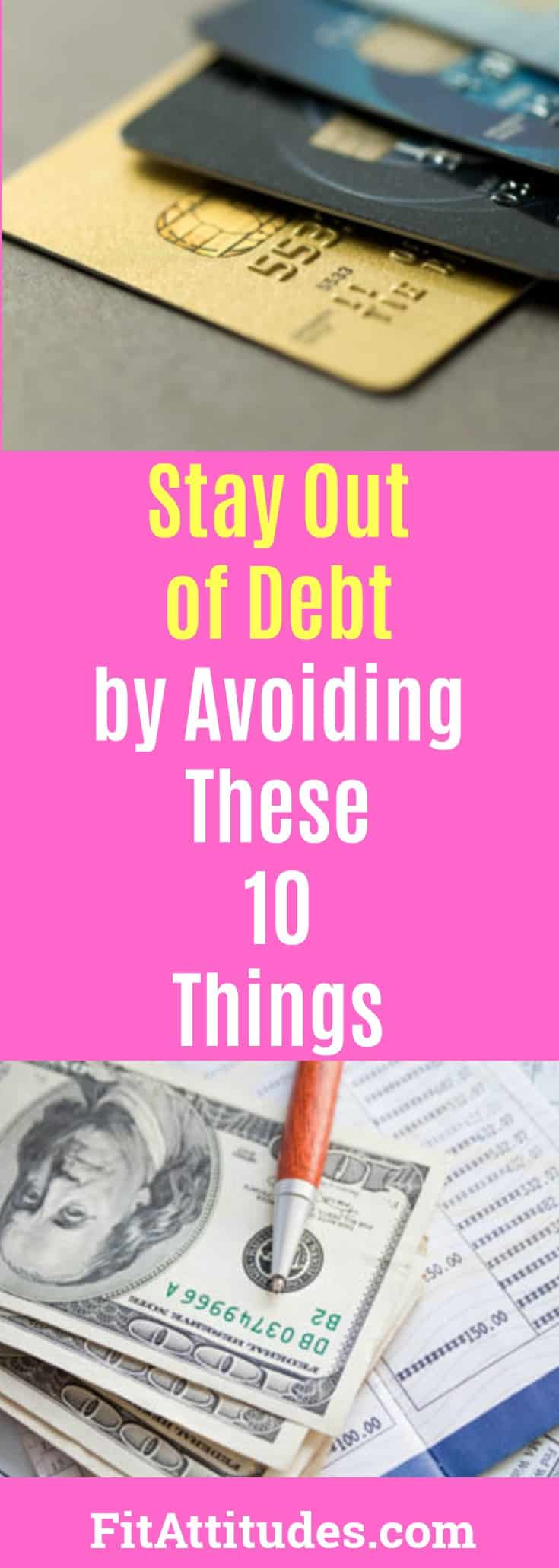 Striving to Live a Debt Free Life