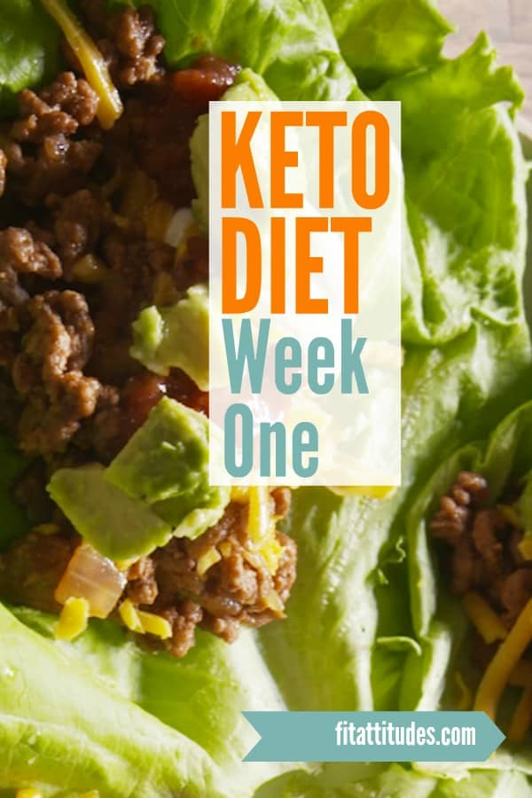 The Keto Diet - Week One