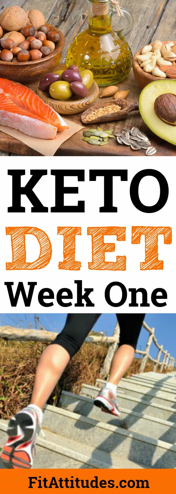 Find out how I lost 8 pound in the first week on the Keto diet.