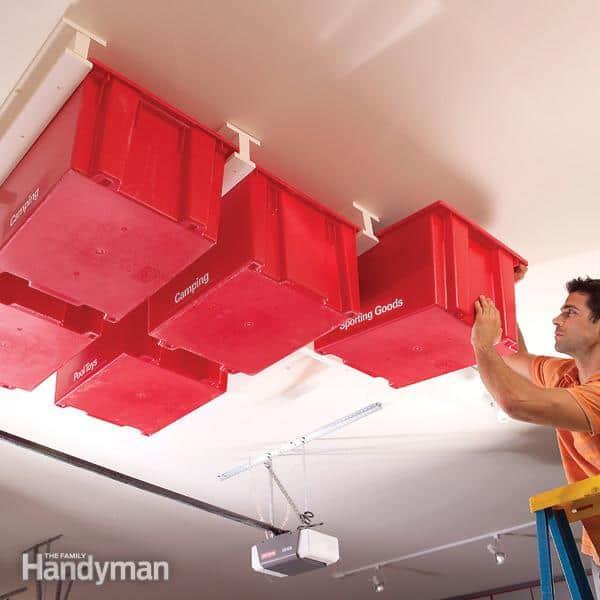Garage Ceiling Storage