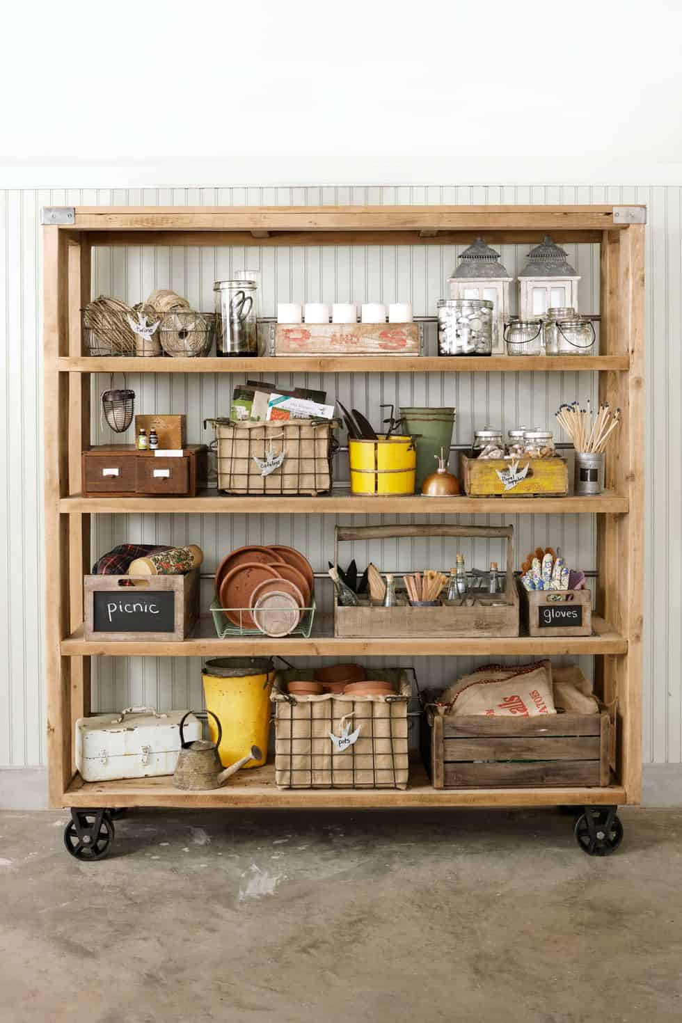 Garage Organization Shelving