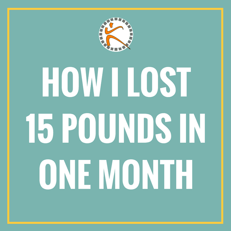 Think you can't lose 15 pounds in one month. Read this. #howtolose15pounds