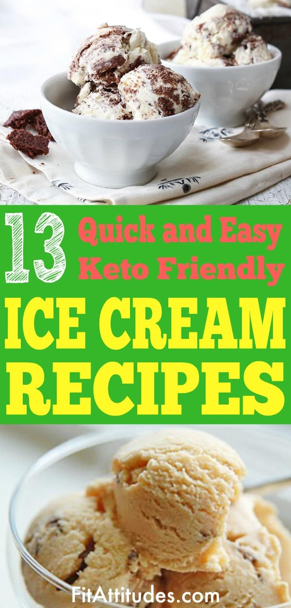 Savor the taste of low carb ice cream with these awesome recipes #ketoicecream