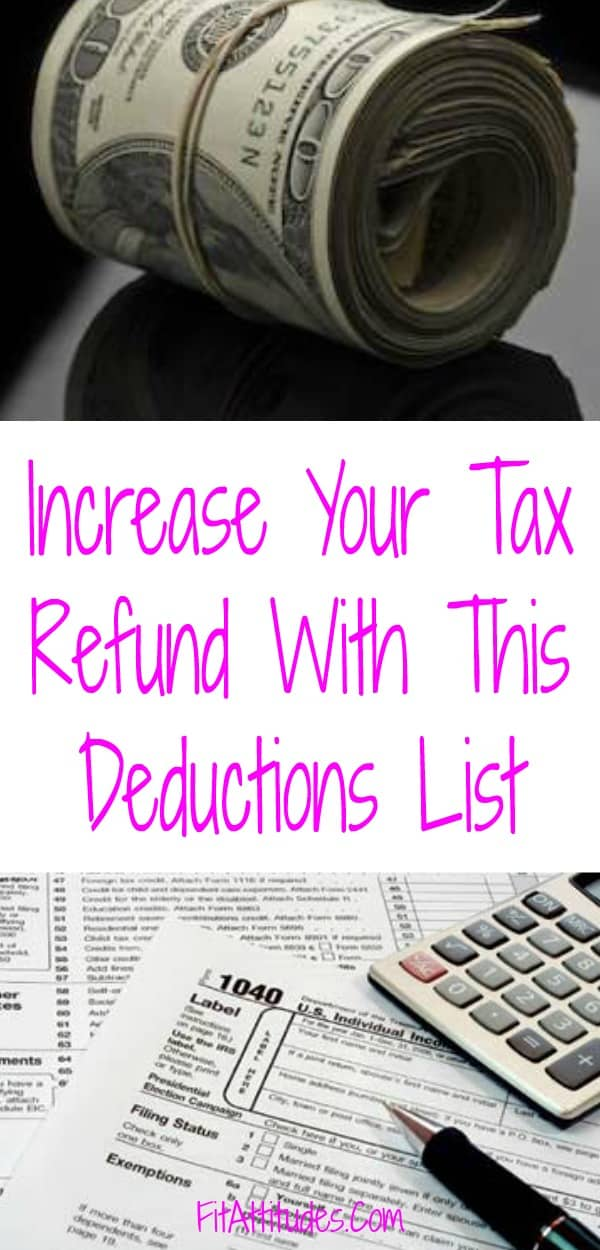 Save Big with this #taxdeductionslist